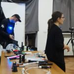 RGB LIGHT EXPERIENCE. Workshop by DKL & Maria Sagesse