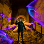 Bélgica. Foto: Frodo DKL, lightpainter: Frodo DKL, model: Iris Shyroii