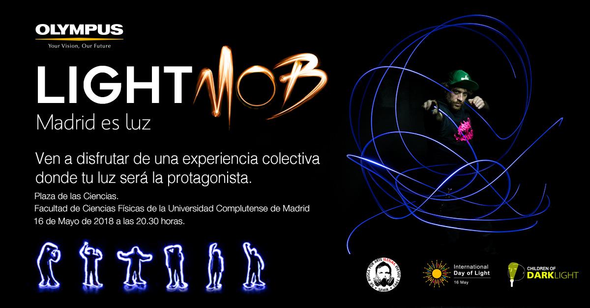 LIGHTMOB MADRID ES LUZ