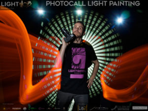 Olympus Lightmob 2018. Photocall Light Painting